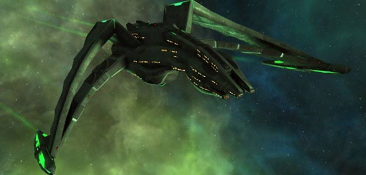 Klingon Bird of Prey:Star Trek:Pinterest