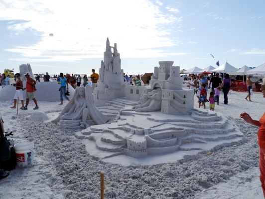 Siesta Key Sand Sculpting Festival
