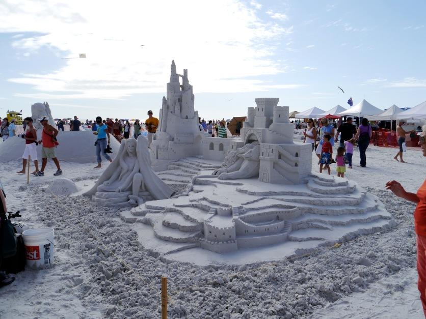 Siesta Key Sand Sculpting Festival