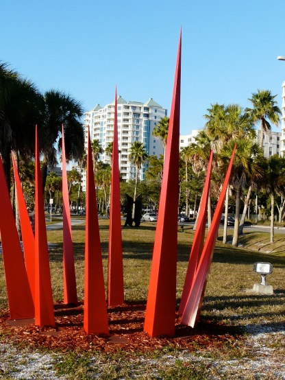 Installation at bayside, Tamiami Trail