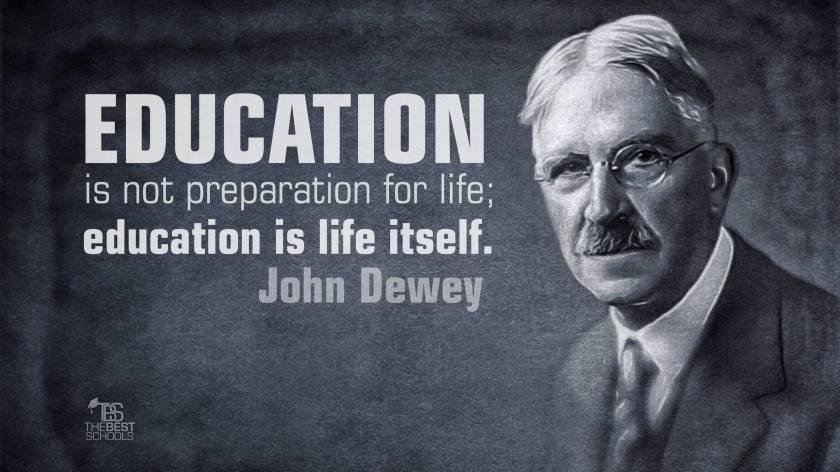 dewey-education-life-itself